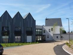 Béguinage du Chêne de Mambré à Angers, Édifices Architectes